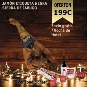 Jamón etiqueta negra sierra de Jabugo