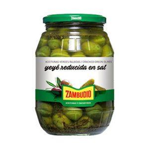 Aceituna Yeyé Reducida en Sal Zambudio