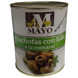 Alcachofas con Rabo a la Romana Italianas Mayo La Dehesa