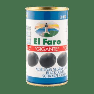 Aceitunas Negras El Faro Gigante Faroliva La Dehesa