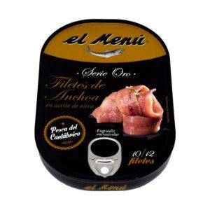 filetes de anchoas el menú serie oro La Dehesa