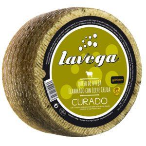 Queso La Vega curado de oveja leche cruda La Dehesa
